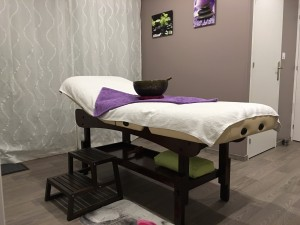 Table de massage, lodge Atlanvie