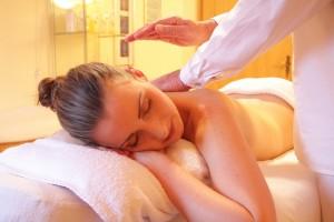 massage bien-être du dos