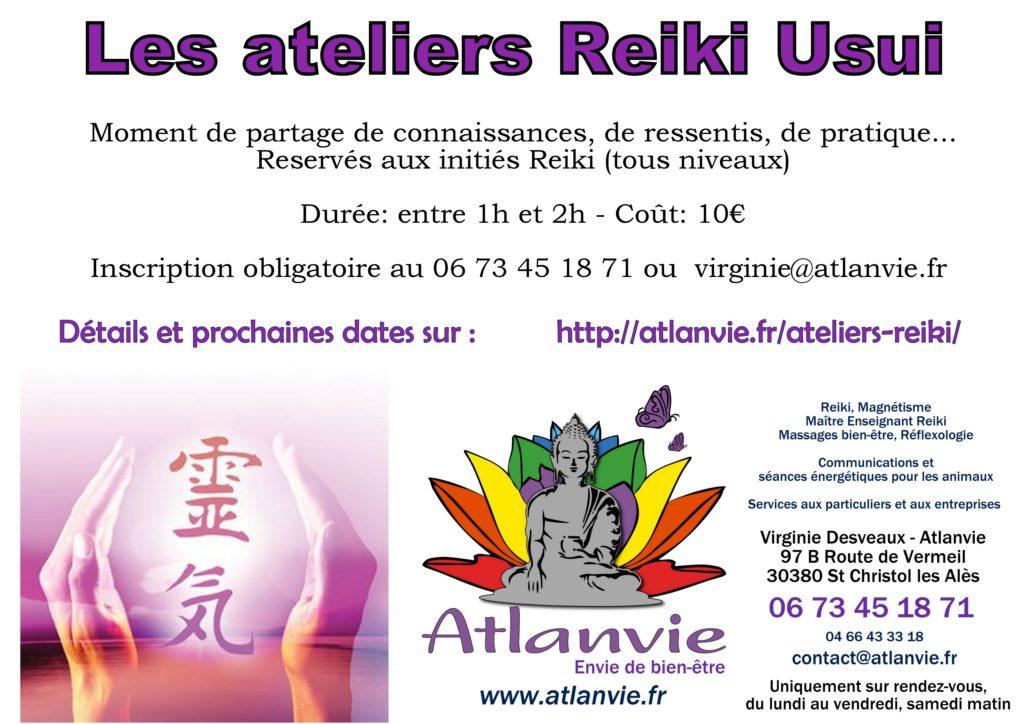 Image Les ateliers reiki Atlanvie