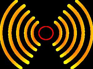 onde radio jaune