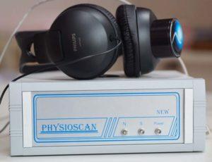 boitier et casque Physioscan